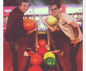 bowling, brendon urie, and P!ATD image