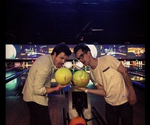 panic! at the disco, bowling, and brendon urie image