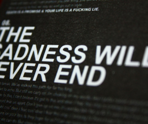 sadness, bring me the horizon, and text image