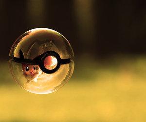 pokemon, pokeball, and eevee image