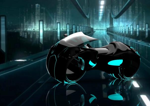 tron and light bike image