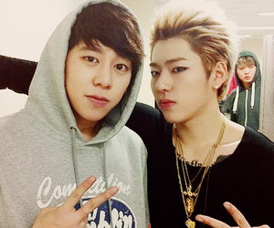 speed, zico, and taewoon image