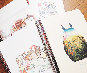 totoro, anime, and drawing image