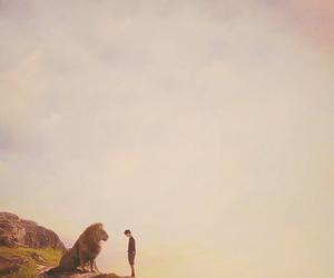 narnia, lion, and edmund image