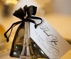 paris, wedding, and eiffel tower image