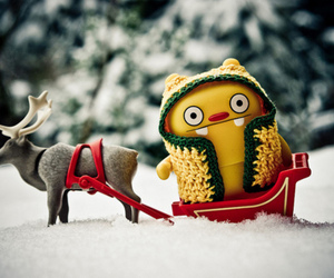 photography, snow, and toy image