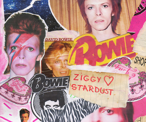 david bowie, Collage, and bowie image