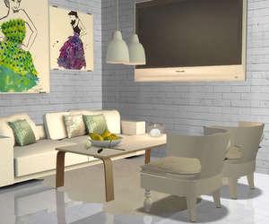 design, interior, and sims image