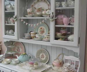 cottage, kitchen, and vintage image