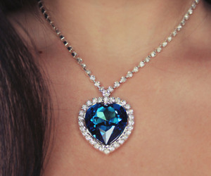 titanic, necklace, and blue image