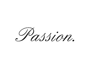 passion and typography image