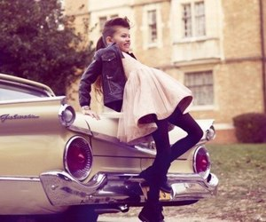 car, girl, and thylane blondeau image