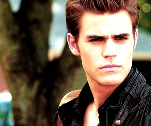 paul wesley, tvd, and stefan salvatore image