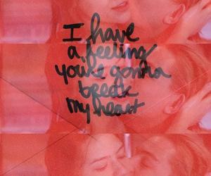 heart, love, and break image