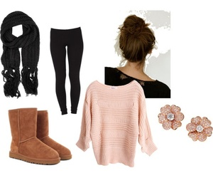 outfit and uggs image
