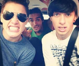 jack harries, sam pepper, and louis image