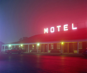 aesthetic, motel, and pale image