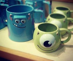 photography, cup, and disney image