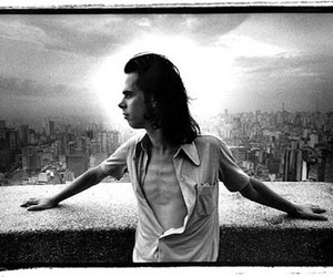black and white, image, and nick cave image