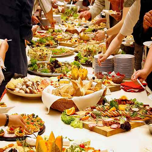 Wedding Reception Food Ideas Discovered By IWedPlanner