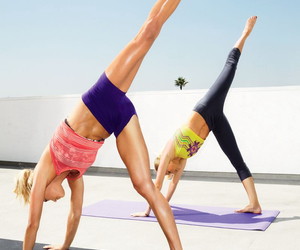 workout, yoga, and fitness image