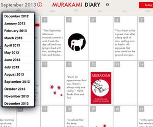 haruki murakami diary image