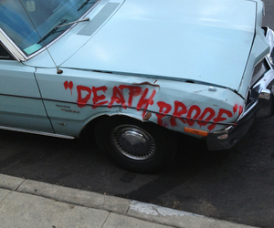 car, funny, and Death Proof image