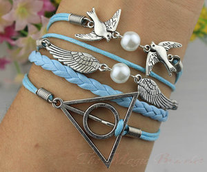 harry potter and deathly hallows bracelet image