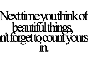 beautiful, quotes, and yourself image
