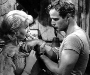 1951, a streetcar named desire, and b&w image