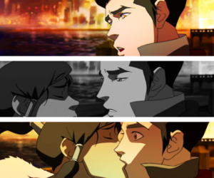 mako, lok, and fire bender image