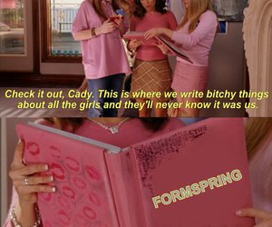 mean girls, funny, and formspring image