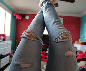 jeans and photography image