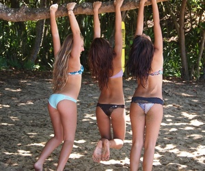 girl, beach, and cute image