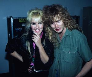 dave mustaine, megadeth, and lita ford image