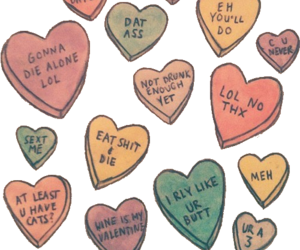 hearts, sassy, and transparent image