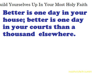 most holy faith, growing in christ, and build yourselves up image
