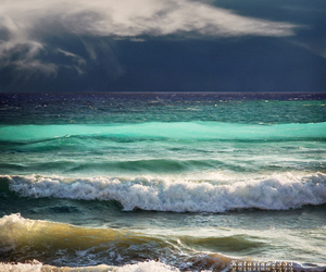 water, waves, and nature image