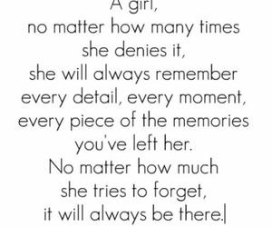girl, quotes, and memories image