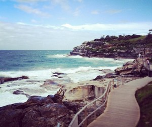 australia, beach, and bondi image
