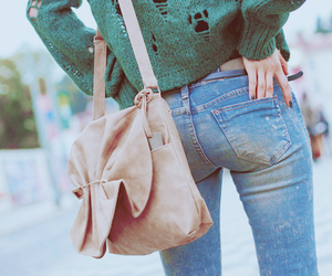 ass, bag, and shopping image