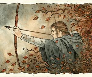 elven, Legolas, and LOTR image