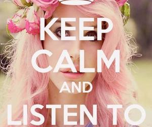 lana del rey, music, and keep calm image
