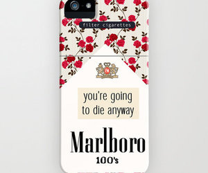 marlboro, iphone, and cover image