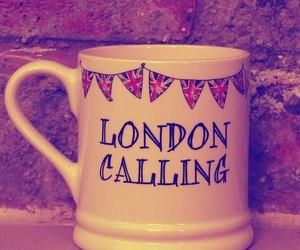 london, cup, and mug image