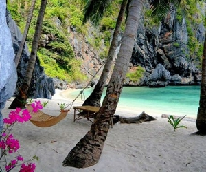beach, summer, and paradise image