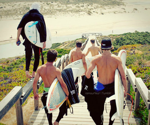 Hot, surf, and beach image