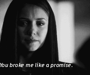 quote, Nina Dobrev, and cry image