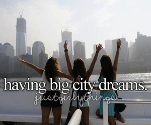 Dream, city, and just girly things image