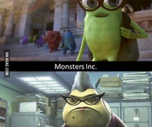 monsters inc, monsters university, and disney image